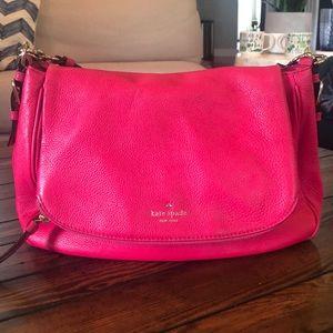 Hot Pink Kate Spade Hobo Bag